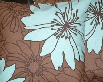 "2 18"" Duck Egg Blue Flower Funky Contemporary Modern Cushion Covers,Pillowcases,Pillow Covers,Pillow Slips,Pillow"