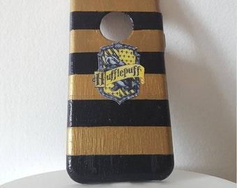 Hufflepuff Striped iPhone 5/5s/5c phone case