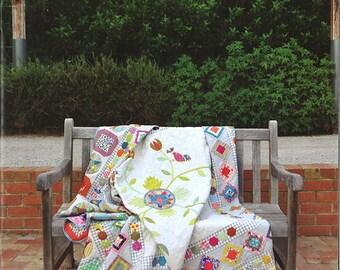 HAPPY BIRDS By Jen Kingwell Modern Quilt Pattern Projects Blocks