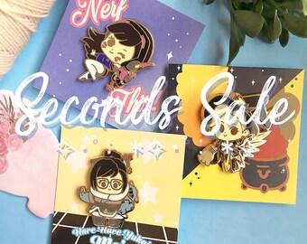 Seconds Sale - D.va, Mei, & Mercy