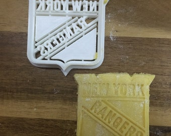 New York Rangers - NHL 3D Printed Cookie Cutter