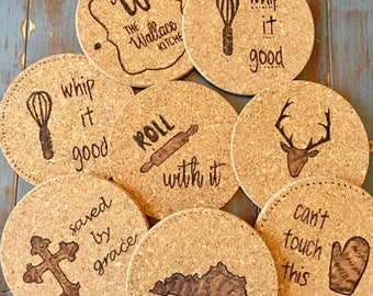 Personalized Kitchen Trivets
