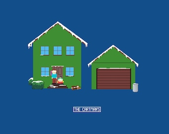 Cartman Redsidence Pixel Art