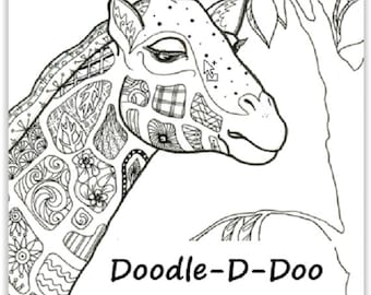 Doodle-D-Doo Coloring Pages -This and That
