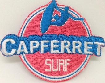CAP FERRET SURF iron on patch