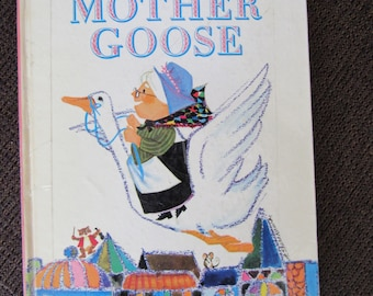 Pop-Up Mother Goose Random House Free Shipping