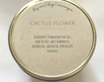 Cactus Flower Body Scrub