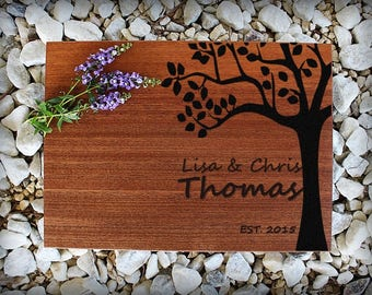 Custom Cutting Board, Personalized Cutting Board, Engraved Cutting Board, Wedding Gift, Anniversary Gift, Housewarming Gift, Valentines Gift
