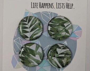 Light and Leafy Magnet Set