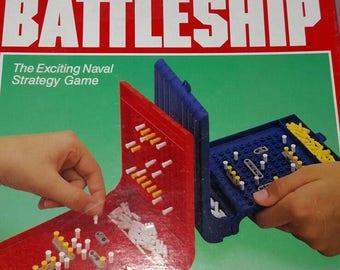 Travel Battleship game 1989