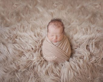 Flokati Faux Fur Backdrop Fabric, Studio Flooring, Newborn Photo Prop Vegan Fur, Faux Fur Photo Prop, Artificial Fur, SUPER SIZE PONY