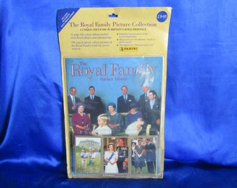 The Royal Family Sticker Album by Panini Publishers, Unopened