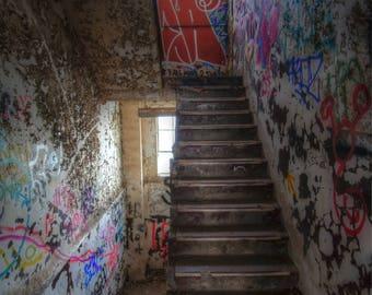 Street Art Stairs