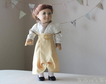 "Rose's Deck Dress from ""Titanic"" for 18"" American Girl Dolls"