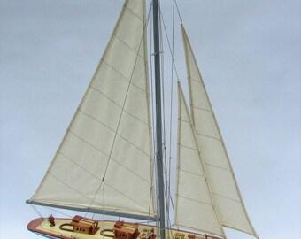 """24"""" Velsheda Sailing Boat Model"""