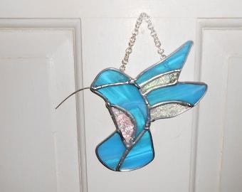 Bright Blue Hummingbird