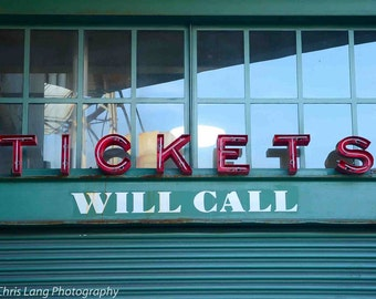 Will Call Tickets Booth at Fenway