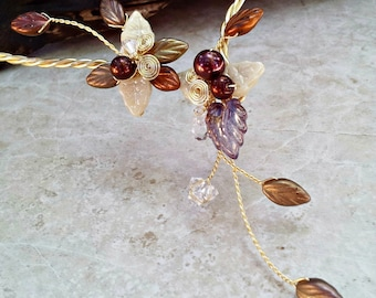 Fields of Gold Fairy Torc Necklace