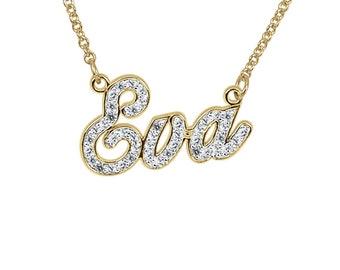 Diamond Briana Nameplate
