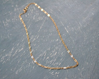 Dainty Choker, 14k Gold Filled, Rose Gold Filled or Sterling Silver Lace Choker Necklace