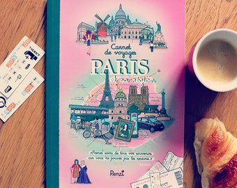 Travel Paris complete book (pictured, fun, educational) for adults and children