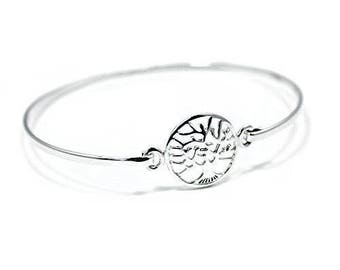 Sold 925 Sterling Silver Tree of Life Bangle gift boxed