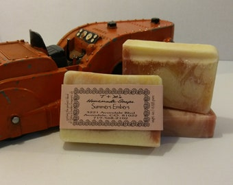 Summer's Embers moisturizing personal bath and body soap bar