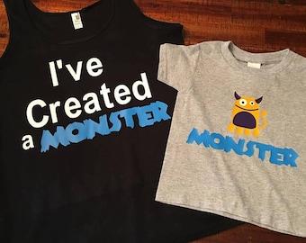 Monster Shirt Set