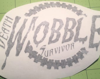 Death Wobble Survivor Decal