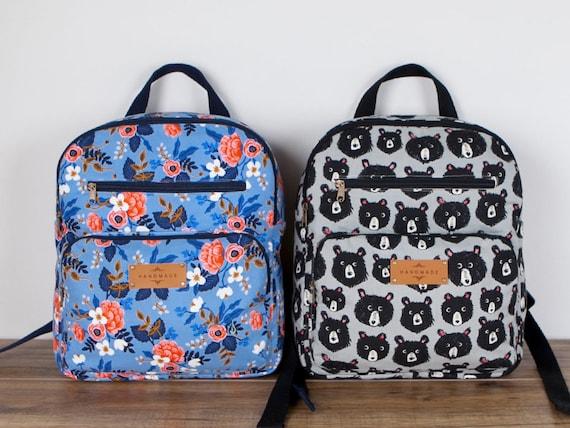 Elina Backpacks (2 Sizes) PDF Sewing Pattern (#1307)
