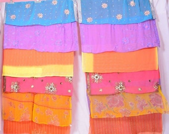 Vintage Bohemian Gypsy Curtain curtains boho curtains embroidery Multicolor C161