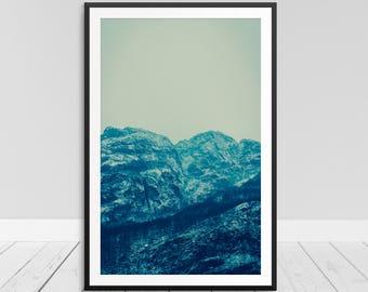 Fog Photo Print, Mist Fog Print, Foggy Mountain, Fog Wall Art, Fog Art Picture, Foggy Mountain Print, Foggy Print, Fog Printable