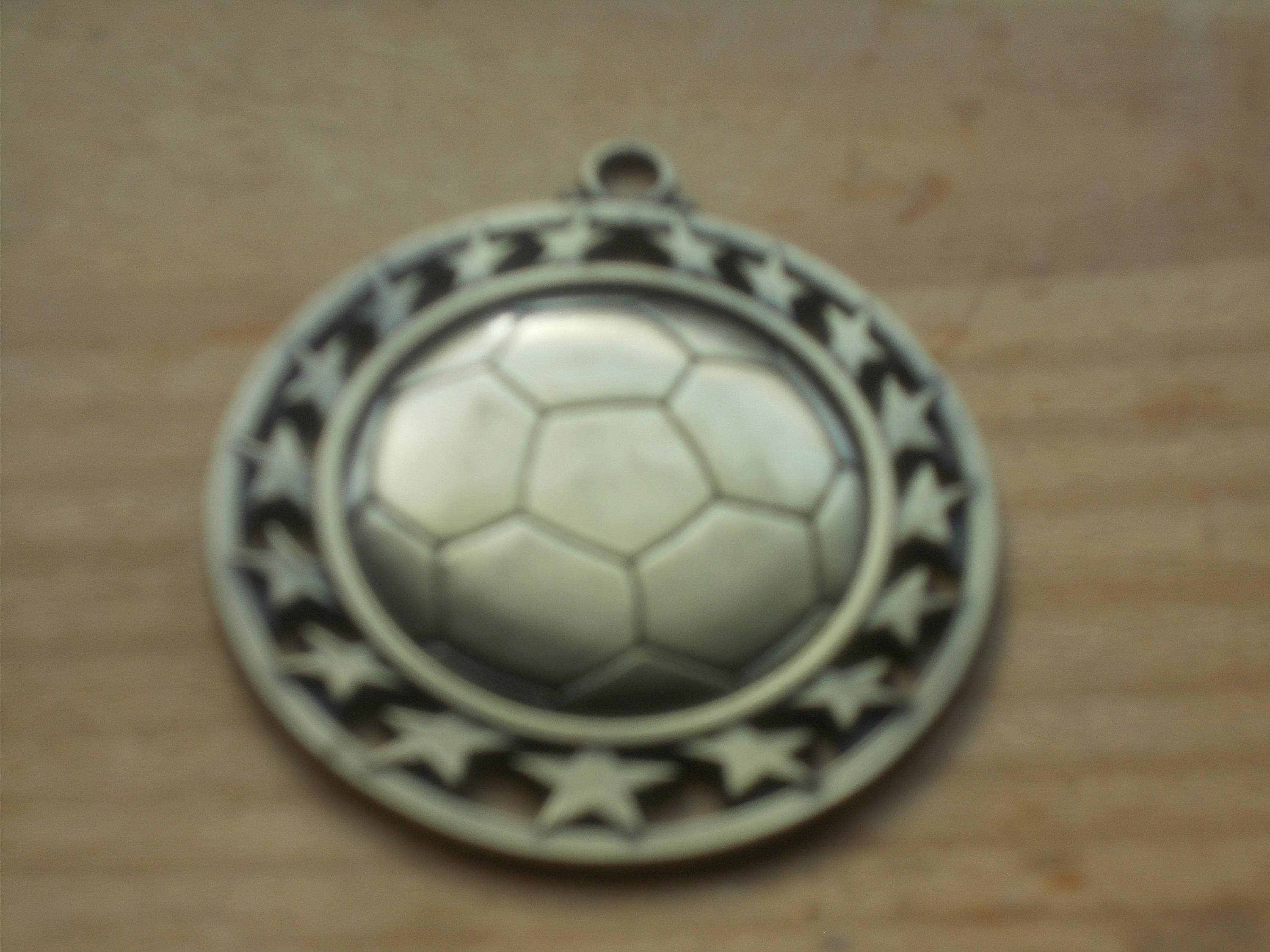 soccer in products pendant light pin novelty and silver ball