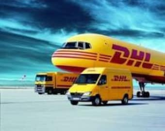 DHL Express Shipping - leave us your phone number when check out