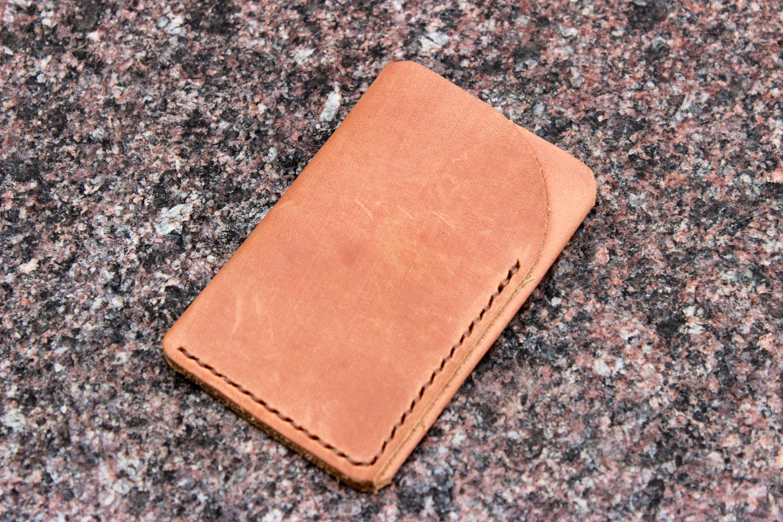 Leather card sleeve credit card sleeve business card sleeve