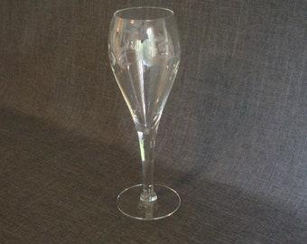 Princess House Champagne Glass, Crystal Champagne Glass, Princess House Champagne Flute
