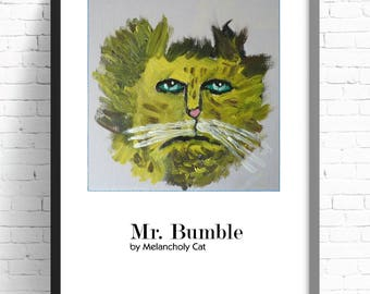 Large A3 MR BUMBLE 1st Edition Print