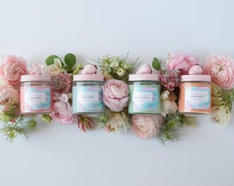 Little Soy Wax Candle, grapefruit, strawberry, rainwater, sage citrus, teen gift, tween gift
