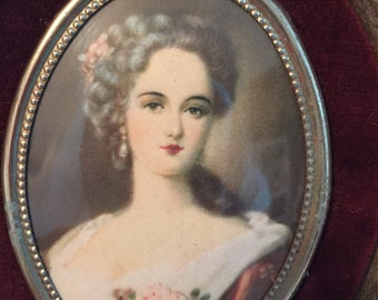Vintage Pair of Framed Cameo Creations by Sir Thomas Lawrence