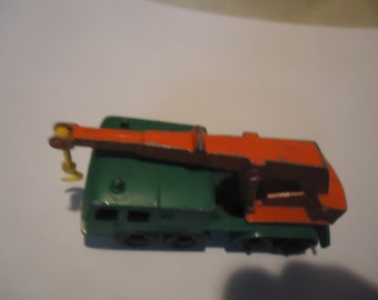 Vintage Matchbox Lesney Truck Series No.30 Wheel And Crane Diecast Toy, collectable