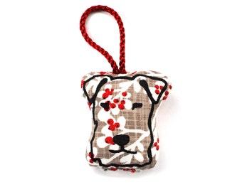 Terrier Christmas Decoration