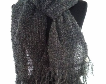 Wool scarf '. Father's Day gift.