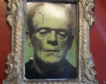 Dollhouse Picture 4 Halloween; Karloff as Frankenstein's Monster