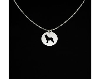 Briard Necklace - Briard Jewelry - Briard Gift