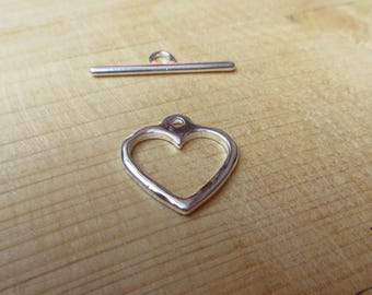 Toggle heart 20 mm x 1