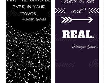 Hunger Games inspired Bookmarks