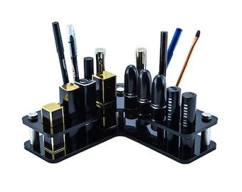 Makeup Organiser - Corner - lipstick storage - mixed shapes