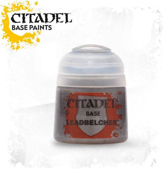Citadel base collection acrylic paint for polymer clay, miniature, steampunk Base paints are formulated to base coating quickly and easily