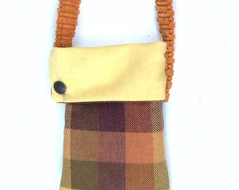 Cross body Bag Fabric Handbag Geometric Design Handbag Recycled Handbag Small Tote Gift Ideas Hobo Bags Modern Tote Market bag gift for her