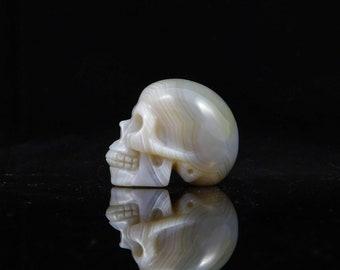 Crystal Skull Agate Skull